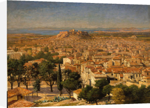 An Extensive View Of Athens With The Acropolis by Christie's Images