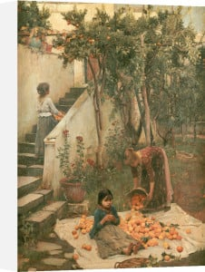 The Orange Gatherers by John William Waterhouse