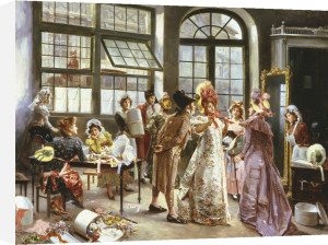 At The Milliner's by Alonzo Perez