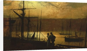 Outward Bound - A View Of Whitby, 1887 by John Atkinson Grimshaw