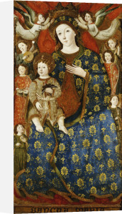 The Madonna And Child In Glory, Catalan School by Christie's Images