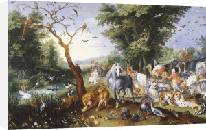 Animals Entering Noah's Ark by Jan Bruegel The Younger