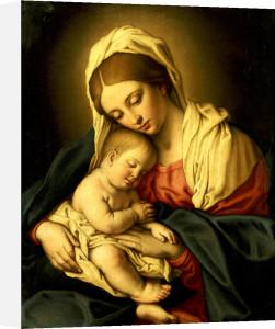 The Madonna And Child by Sassoferrato (Giovanni Battista Salvi)