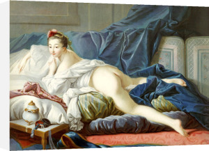 L'Odalisque Brune by Francois Boucher