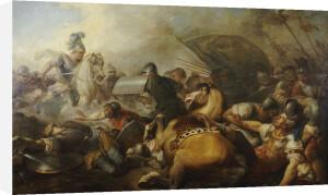 A Battle Between Two Roman Legion Enemies by Ecole Francaise Autour De
