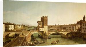 Ponte Delle Navi, Verona by Bernardo Bellotto