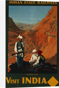 Visit India, Indian State Railways, C.1930 by William Spencer Bagdatopoulus