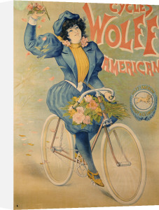 Cycles Wolff, American, C.1895 by Christie's Images