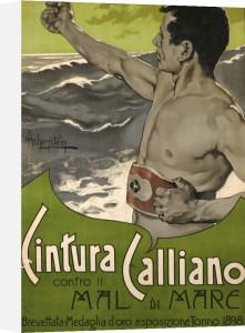 Cintura Calliano, 1898 by Adolfo Hohenstein