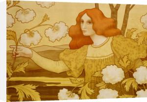 Les Boules De Neige, C.1900 by Paul Berthon