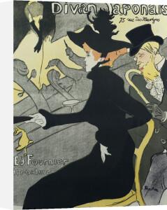 Divan Japonais, 1893 by Henri de Toulouse-Lautrec