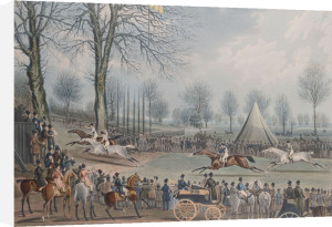 The St. Albans Grand Steeple Chase, March 8th 1832 by Christie's Images