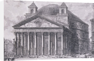 A View Of The Pantheon, Rome. Veduta Del Pantheon D'agrippa, 1761 by Giovanni Battista Piranesi