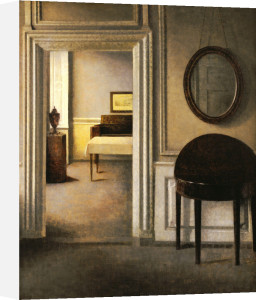 The Music Room, 30 Strandgade, 1907 by Vilhelm Hammershoi