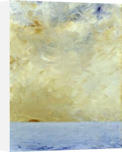 Sunset (Solnedgang), 1903 by August Strindberg