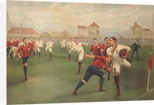 England V. Wales. January 5th 1895 At Swansea by Christie's Images