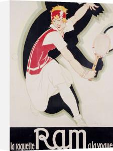 Ram, Circa. 1930 by Rene Vincent
