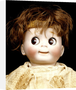 Detail Of A Bisque-Headed Googlie Eyed Character Doll by Christie's Images