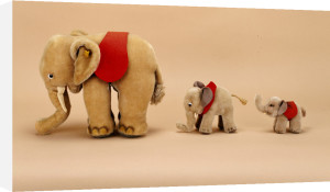 Three Elephants Dolls by Christie's Images