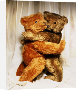 Two Teddy Bears Embracing by Christie's Images