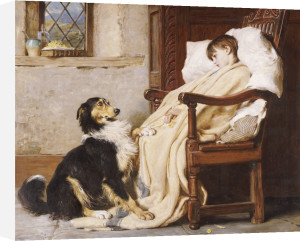 Old Playfellows, 1883 by Briton Riviere
