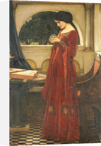 The Crystal Ball, 1902 by John William Waterhouse