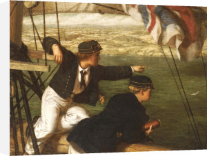 Land Ahoy!, 1864 by Phillip Richard Morris