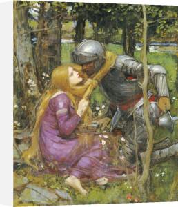 A Study For 'La Belle Dame Sans Merci' by John William Waterhouse