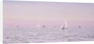 Off The Isle Of Man, 1885 by John Brett