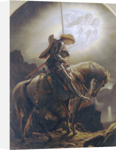 Sir Galahad's Vision Of The Holy Grail by Sir Joseph Noel Paton