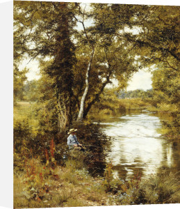The Brook He Loved, 1892 by Edward Wilkins Waite