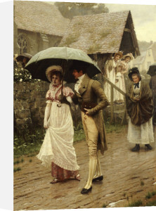 A Wet Sunday Morning, 1896 by Edmund Blair Leighton