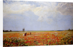 The Flower Pickers by Sir David Murray
