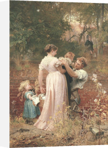 My Lady Is A Widow And Childless, 1874 by Marcus Stone
