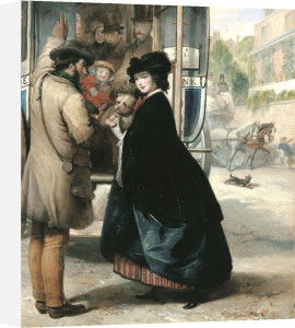 The Charing Cross To Bank Omnibus by Thomas Musgrove Joy