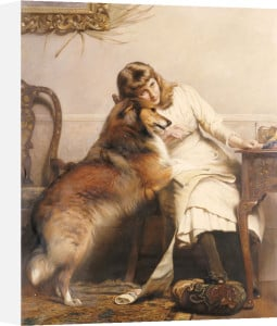 Sweethearts by Charles Burton Barber