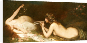 The Serenade by Leonard Raven-Hill