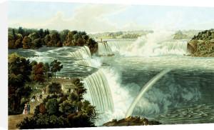 Niagara Falls by Robert Havell