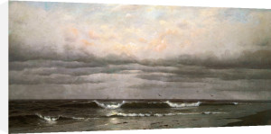 Shoreline, Early Evening by Francis Augustus Silva