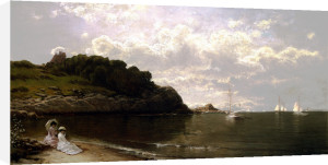 Looking Out To Sea by Alfred Thompson Bricher