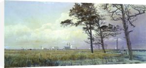 A Coastal Scene, Atlantic City, New Jersey by William Trost Richards