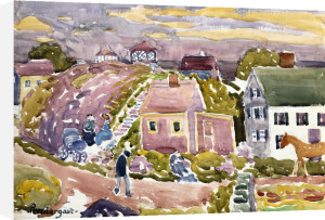 Rockport, Mass, 1912 by Maurice Prendergast