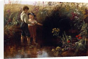 Prairie Flowers by Jerome Thompson