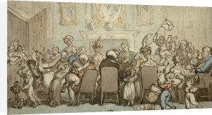 The Breedwell Family by Thomas Rowlandson