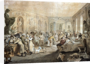 Very's Restaurant In The Palais Royal, Paris by John Nixon