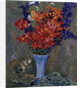 Tiger Lilies (Field Bouquet) by Giovanni Giacometti