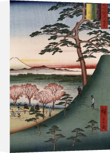'Original Fuji, Meguro by Ando Hiroshige
