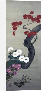 Autumn Flowers I by Suzuki Motonaga Kiitsu