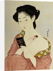 A Woman In Underclothes by Hashiguchi Goyo