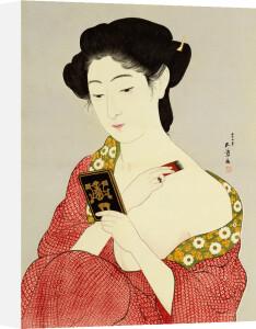 A Woman Powdering Her Neck by Hashiguchi Goyo